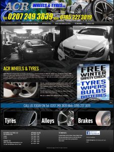 ACR Tyres and Wheels Design