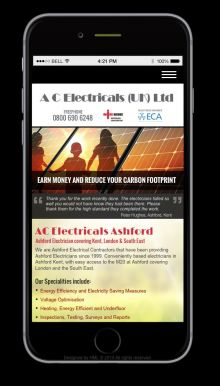 AC Electrical on Mobile