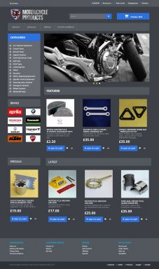 GB Motorcycle Products Design