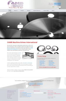 Camb Machine Knives Design